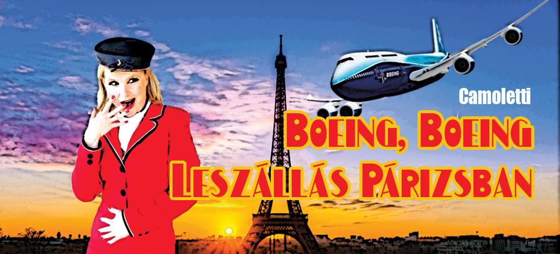 Pinceszínház Eger Boeing Boeing Leszállás Párizsban vígjáték