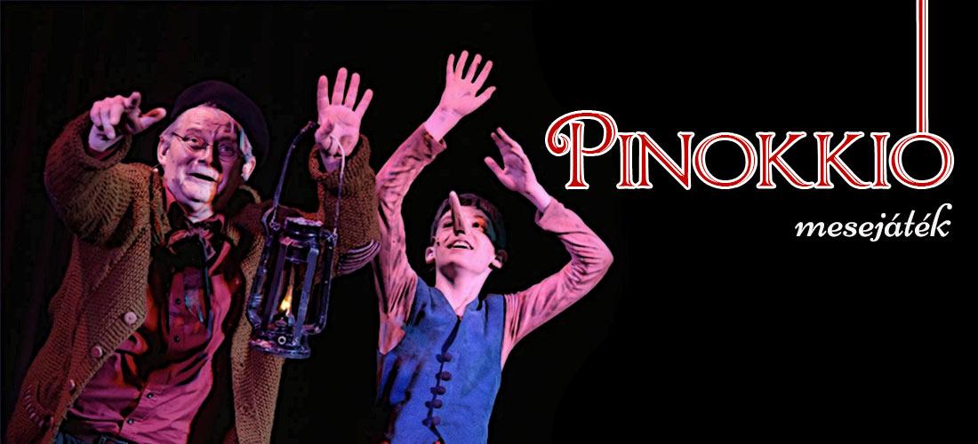 Pinceszínház Eger Pinokkió mesejáték