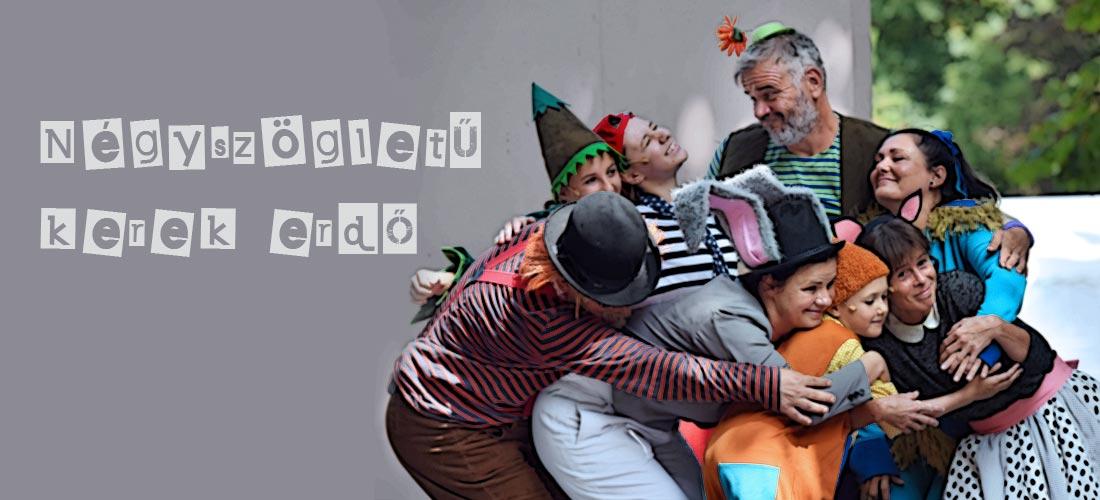 Pinceszínház Eger Négyszögletű kerek erdő zenés mesejáték gyerekeknek