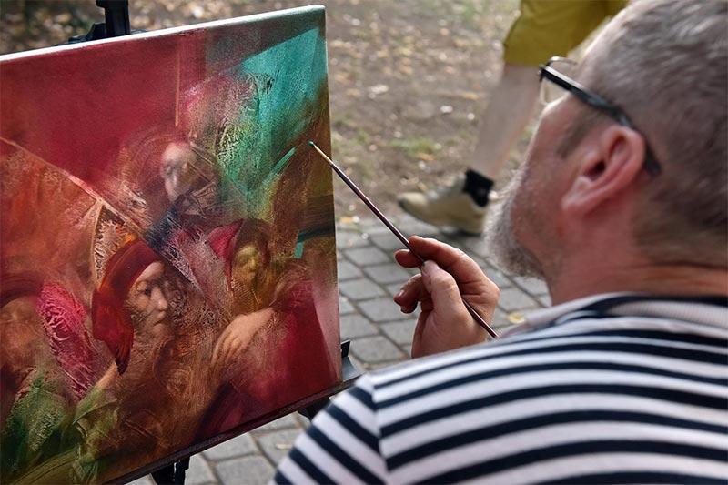 Művésztelep